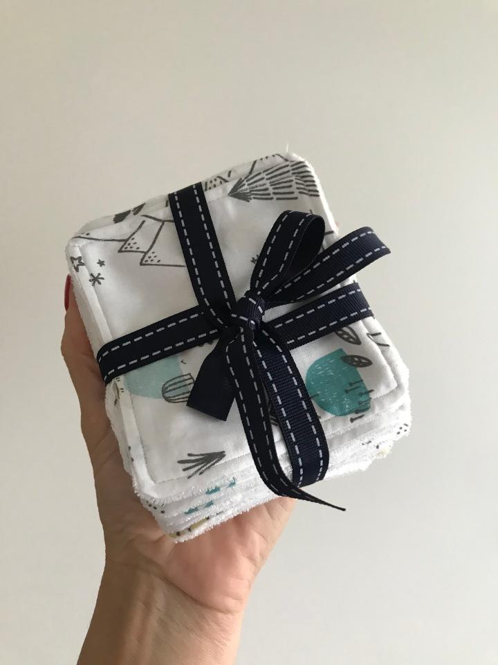 Cousette : lingettes lavables pourbébé