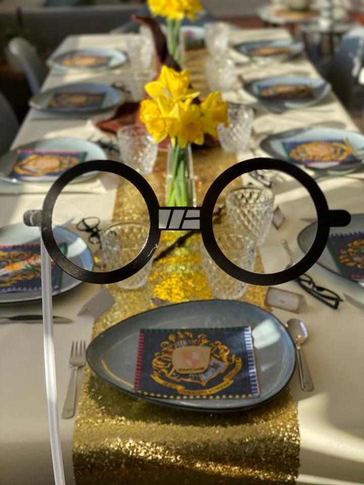 Les 9 ans de Kélia – Anniversaire «Harry Potter»